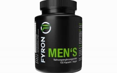 Favorisez la production de testostérone par votre corps avec FYRON MENs